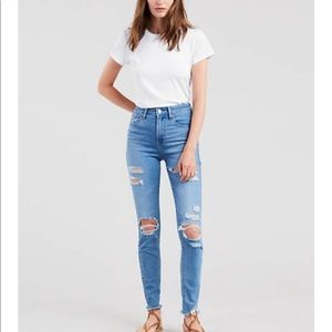 Levi's HIGH RISE 721 Distressed